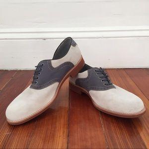 Johnston & Murphy Sheepskin Saddle Shoes